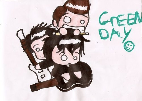 Green dag Chibis/Cartoons/Comics :3