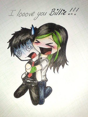 Green Day Chibis/Cartoons/Comics :3