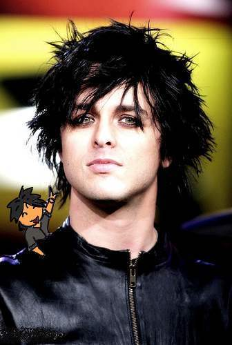 Green Day wallpaper containing a portrait called Green Day Chibis/Cartoons/Comics :3