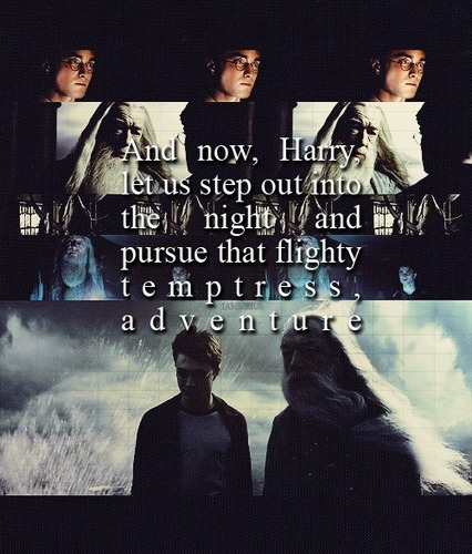 Harry & Dumbledore :))