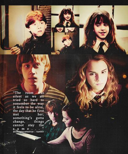 Ron & Hermione :))