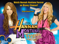 Hannah Montana Forever Exclusive Disney BEST OF BOTH WORLDS kertas-kertas dinding sejak dj!!!