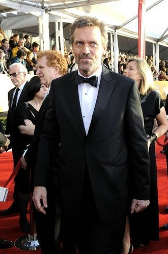 Hugh laurie at the SAG Awards 2011 -