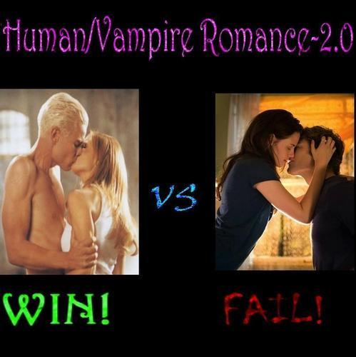 Human/Vampire Romance -2.0
