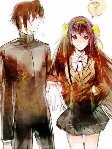 Itsuki and Haruhi