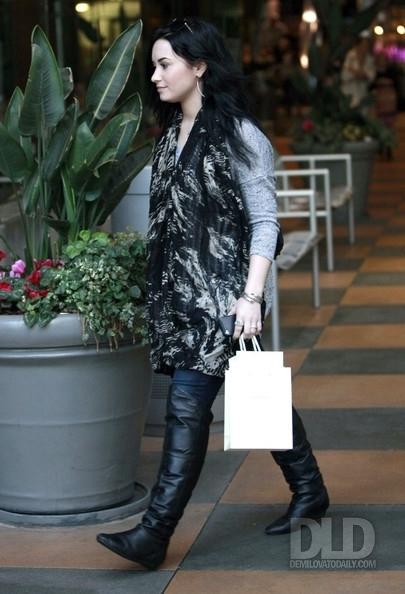 JANUARY 30TH - Shopping at Sherman Oaks Galleria, 2011