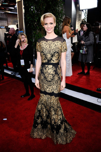 January Jones - 17th Annual Screen Actors Guild Awards - Red Carpet