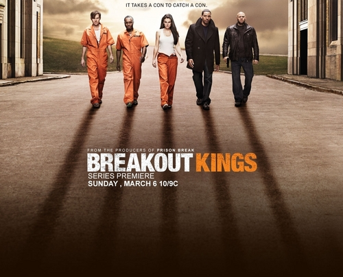 Jimmi Simpson in the First Promotional Poster for 'Breakout Kings'
