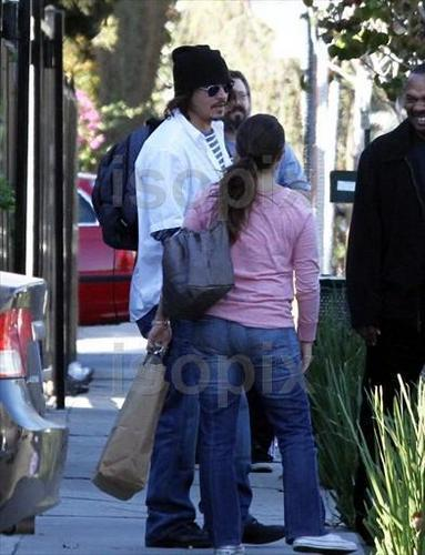 Johnny in Hollywood - 27 January 2011