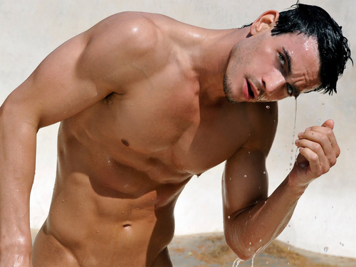 Male Models wallpaper with a hunk called Josh Kloss