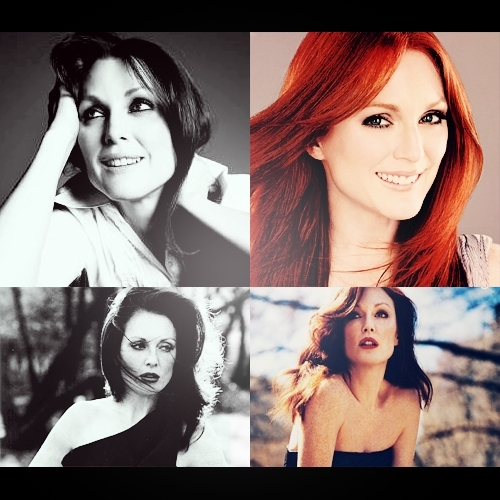 Julianne Moore wallpaper containing a portrait titled Julianne