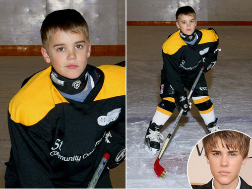Justin Bieber 8 years old