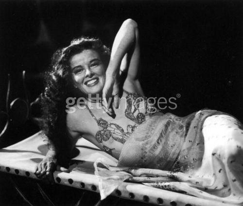 Katharine Hepburn as Cleopatra