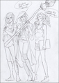 Katniss (Hunger Games), Ginny (Harry Potter) , and Annabeth - the-heroes-of-olympus photo