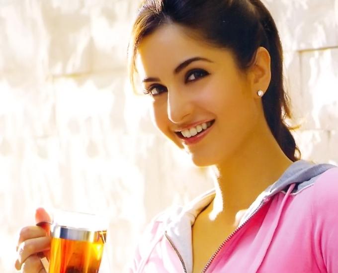 Indian Actress Katrina Kaif Blue Film