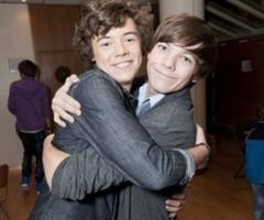 Larry having a hug!!!