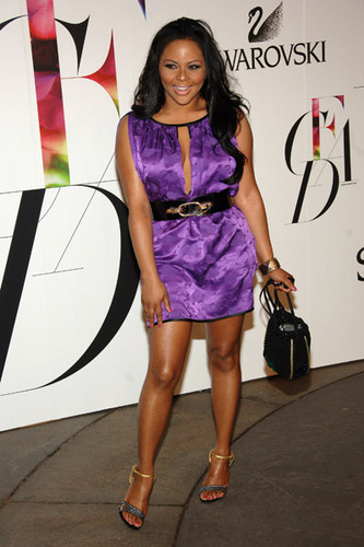 Lil' Kim @ The 2008 CFDA Fashion Awards.