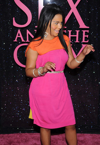 """Lil' Kim @ The 2008 """"Sex and The City: The Movie"""" Premere."""