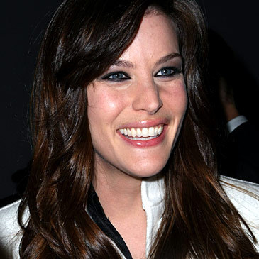 Liv Tyler laughing