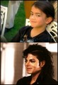 Look!! they are as like as two peas!! - michael-jackson photo