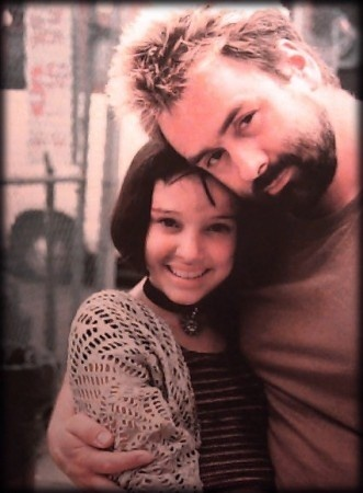 Luc Besson achtergrond probably containing a portrait entitled Luc Besson and Natalie Portman