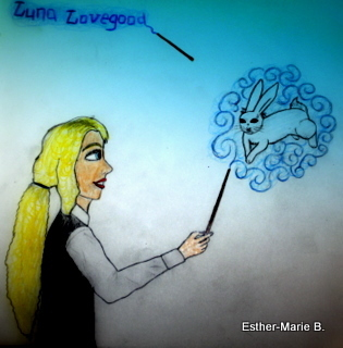 Luna Lovegood Fan art:D Please dont use!