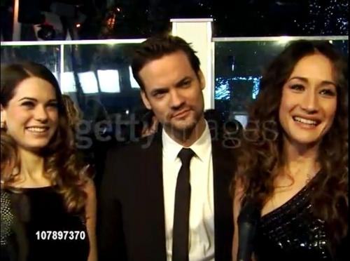 Lyndsy And Shane At People Choice Awards 2011