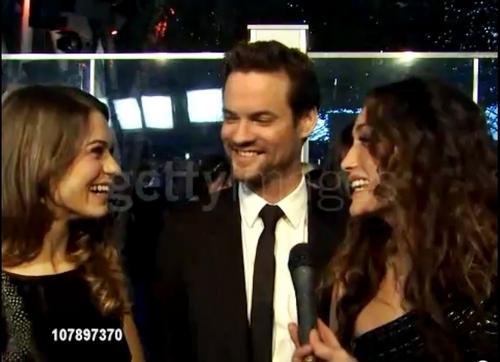 Lyndsy ^ Shane At People Choice Awards 2011