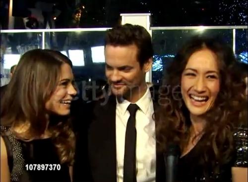 Lyndsy & Shane At People Choice Awards 2011