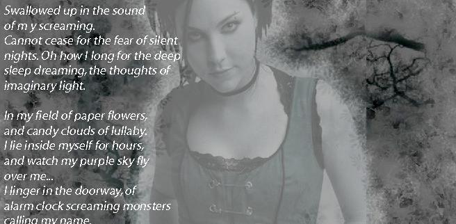 Evanescence Images Lyrics Wallpaper And Background Photos 18882827
