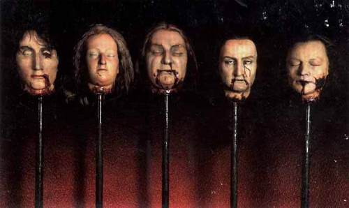 Madame Tussaud - guillotined heads