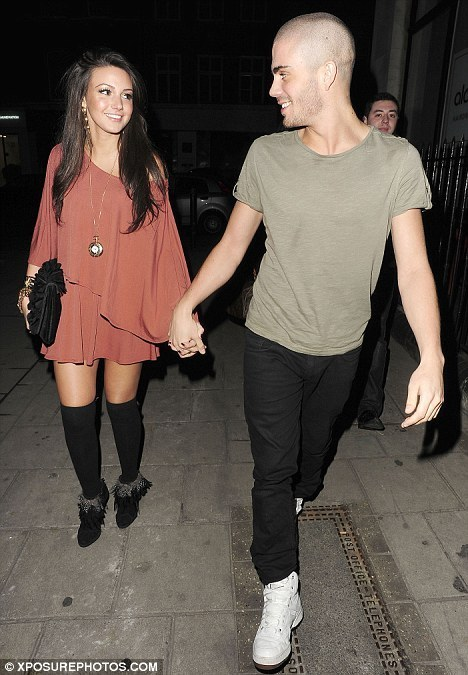 Max George & Michelle Keegan Enjoy Nite Out In Camden North London (Maxchelle) 100% Real :) x - the-wanted photo