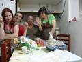 Me with Mario and his parents - maressa photo