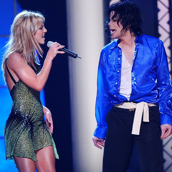 Michael Jackson and Britney Spears