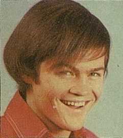 Micky Dolenz posed smiling
