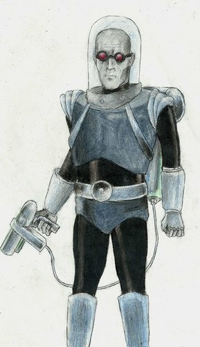 Mister Freeze - batman Fan Art