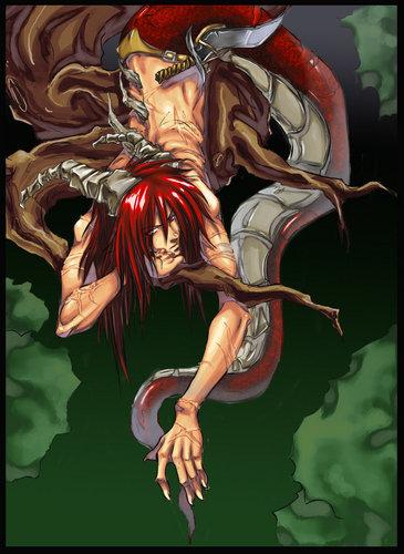 Naga (half man half snake)