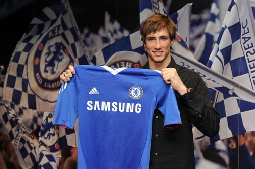 Fernando Torres 壁紙 possibly with a jersey titled Nando - Chelsea's Number 9