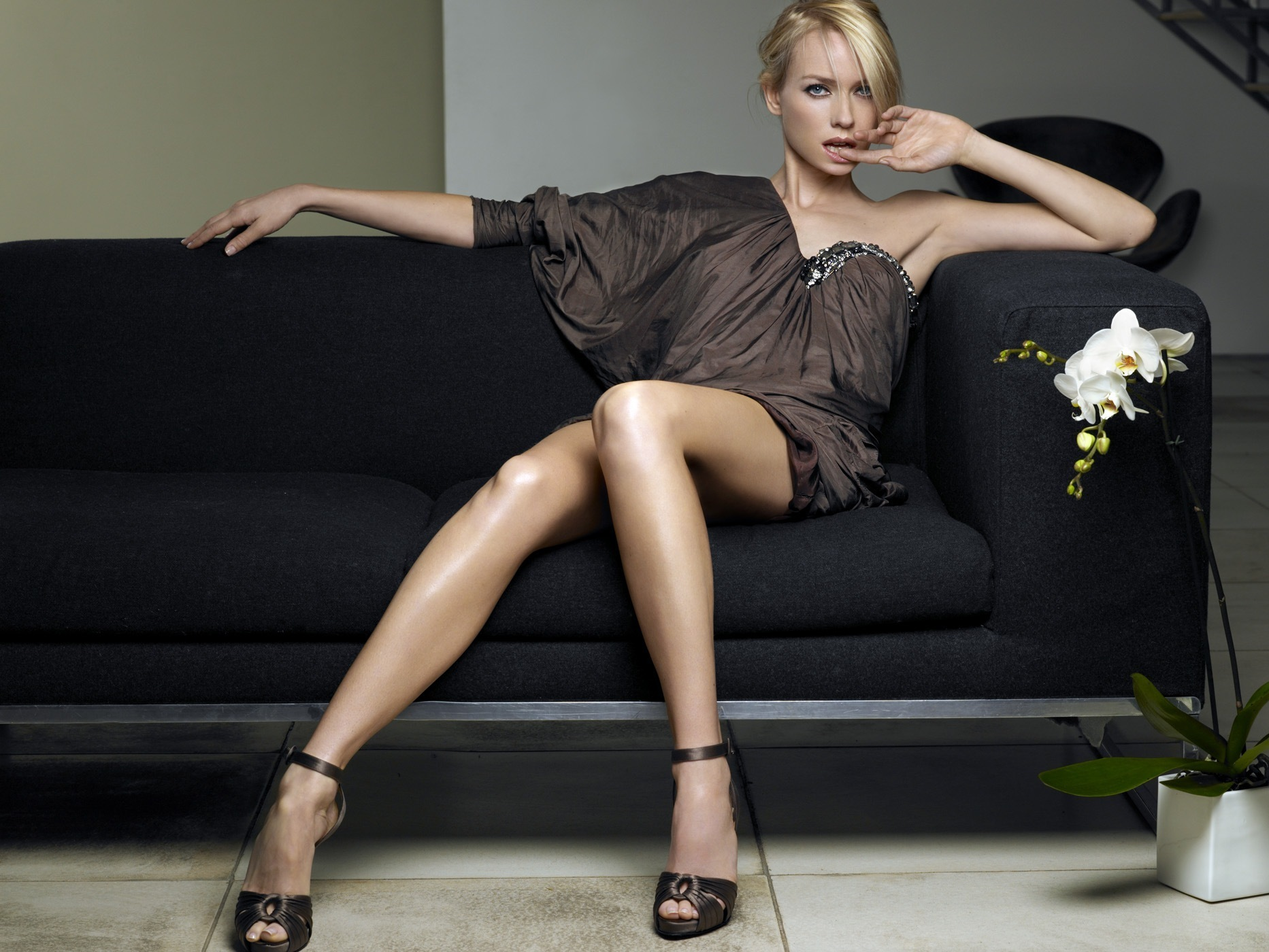 Perhaps actresses in pantyhose