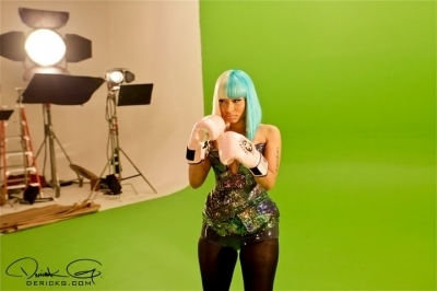 Nicki - Behind The Scenes of 'Knockout'