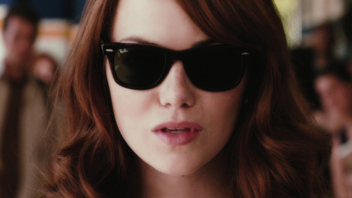 Easy A wallpaper with sunglasses entitled Olive