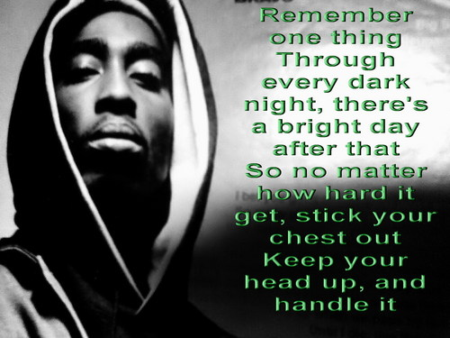 Tupac Shakur wallpaper possibly containing a sign entitled Pacs message