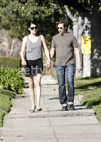 Paget with her boyfriend(?)