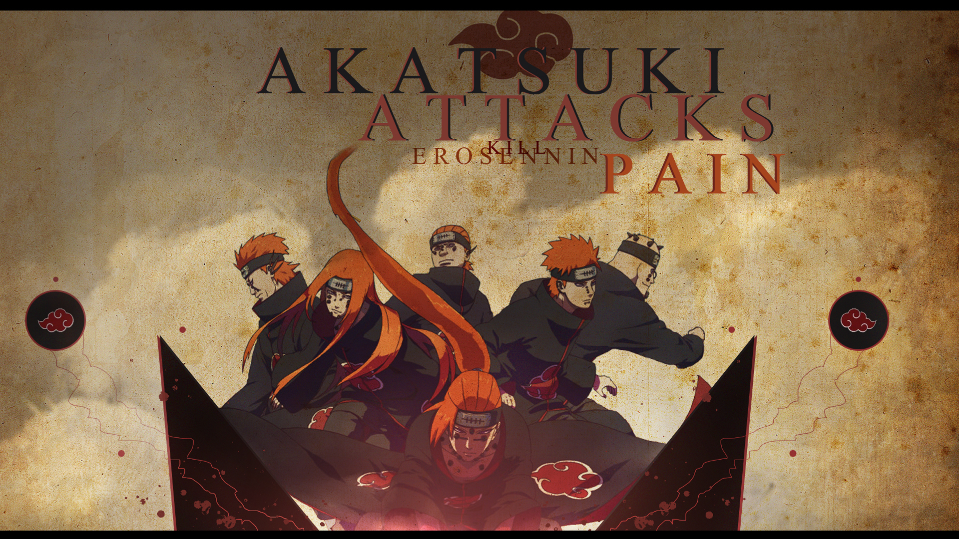 Pain - Akatsuki Wallpaper (18868236) - Fanpop fanclubs
