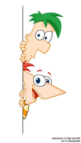 Phineas and Ferb...cute..