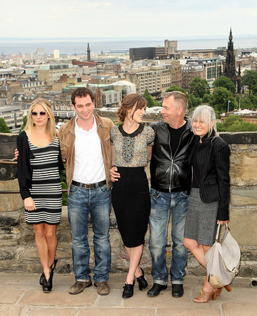 Photocall The Edge of amor Edinburgh castillo 18-06-2008