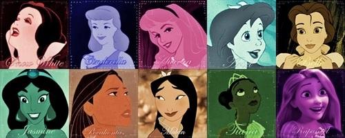 Princesses Colors