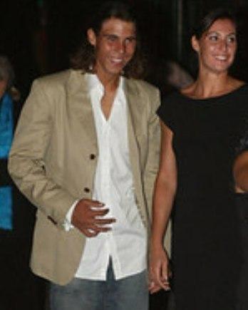 Rafa Nadal and Flavia Pennetta