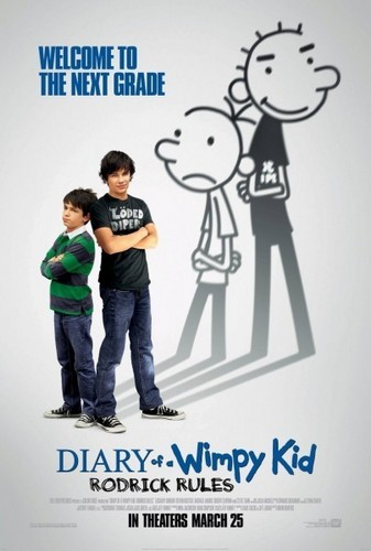 Rodrick Rules movie poster!