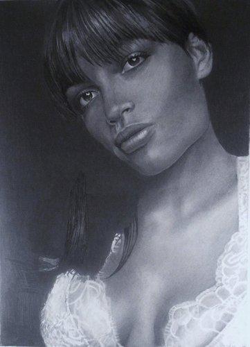Rosario Dawson Drawings DeviantART